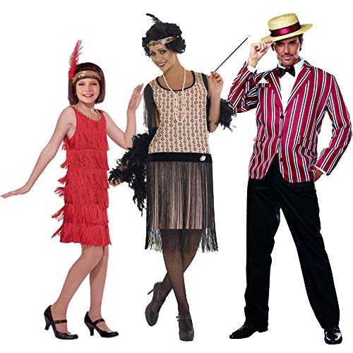 Popular 1920's Inspired  Halloween  Costumes