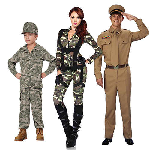 Cool Army Costume Ideas