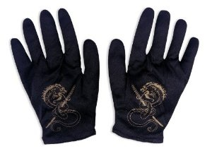 Kids Ninja Costume Gloves