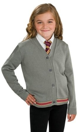Hermione Granger Hogwarts Cardigan and Tie Costume