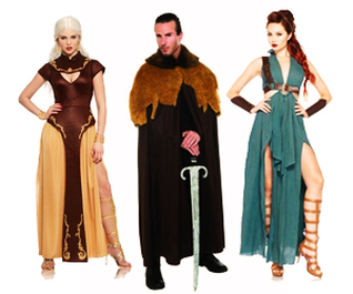 Game Of Thrones Costume Ideas  sc 1 st  Halloween | Fancy Dress Costume Ideas - Purple Broom : fancy dress costume idea  - Germanpascual.Com