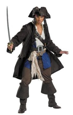 Costumes Teen Capt Jack Sparrow