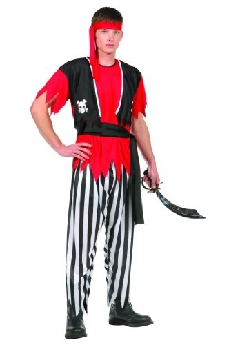 Pirate Man Teen Costume