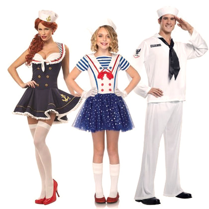 Fun Nautical Costume Ideas