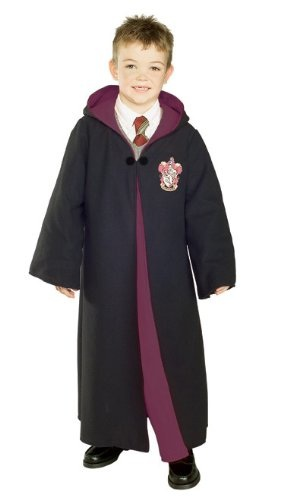 Deluxe Harry Potter Child's Costume Robe With Gryffindor Emblem