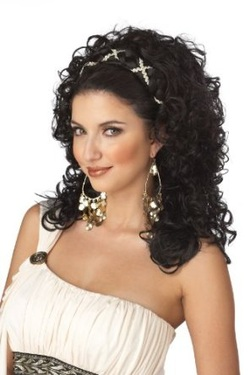 California Costumes Grecian Goddess Wig