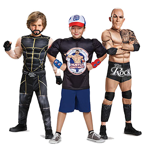 Top  5  WWE Halloween Costumes