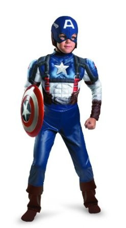 Captain America Movie Classic Muscle Costume