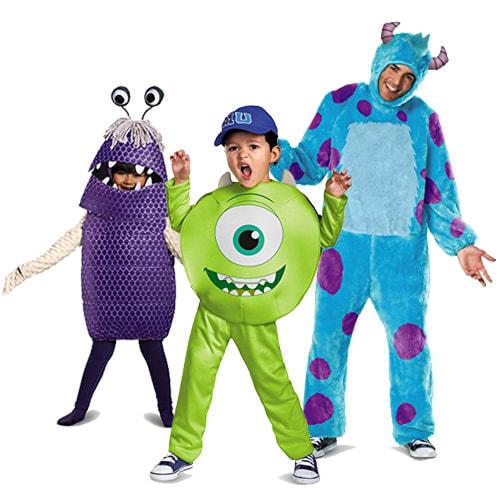 Monster's Inc. Monsters University Costume Ideas